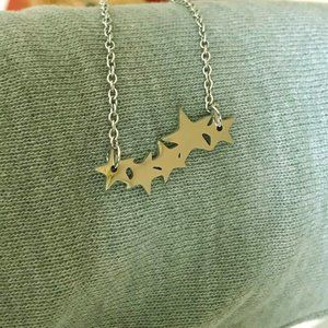 Stainless Steel Stars Necklace